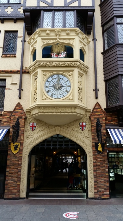 the knight clock