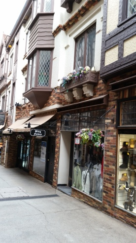 and more shops
