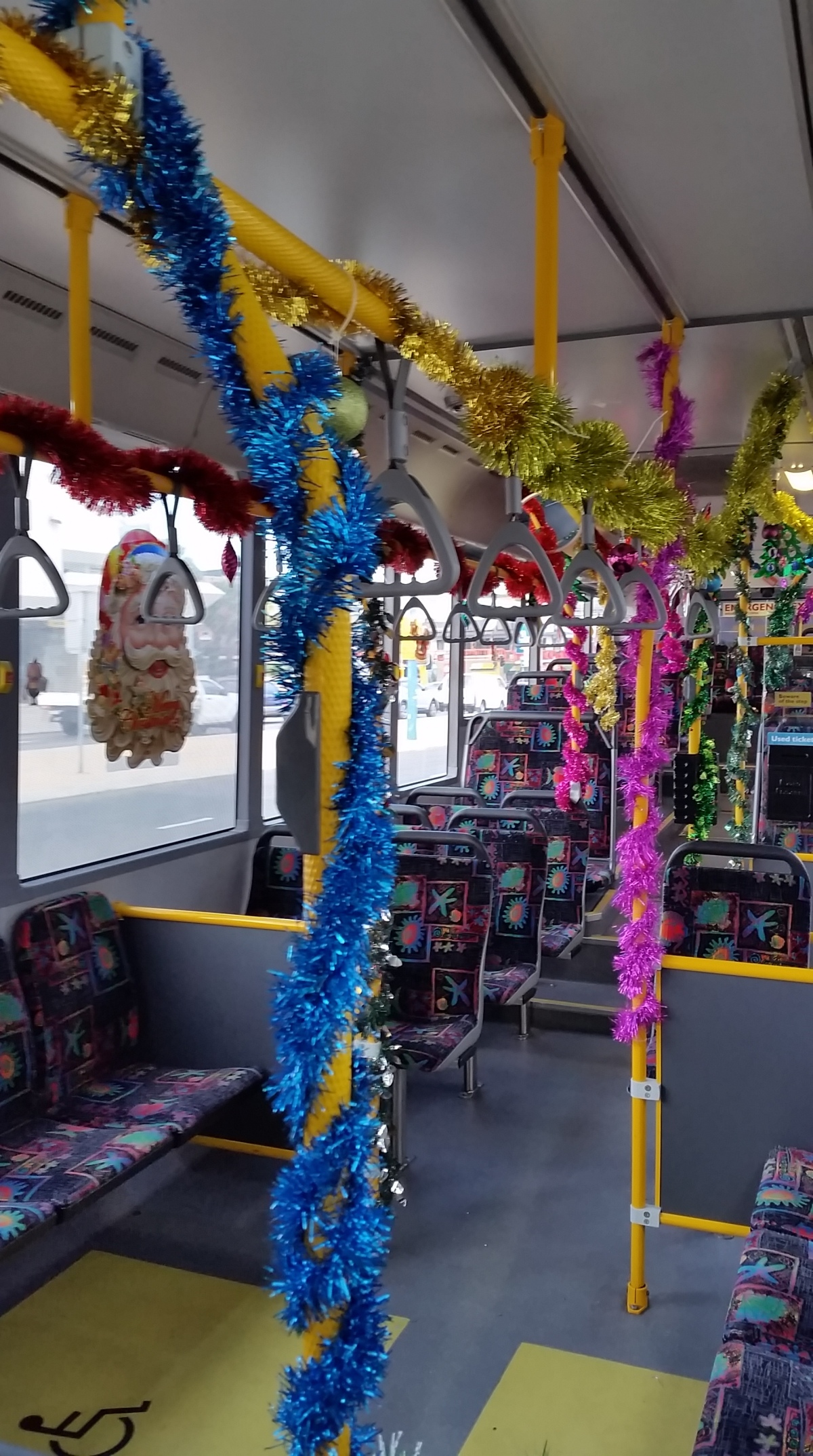 Christmas in a Bus